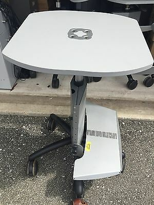 ANTHRO Adjustable Laptop Cart Portable Medical Station Rolling
