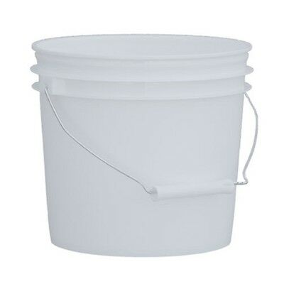 1 gallon white buckets food grade