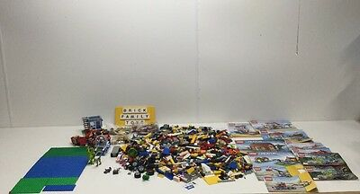 Authentic 100% LEGO Mixed Lot of 8lbs Creator, Jurassic World ++, 2 Mini Figures
