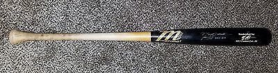 Manny Machado 2013 Autographed Authentic Game Used BAT MLB Orioles PSA GU 8.5