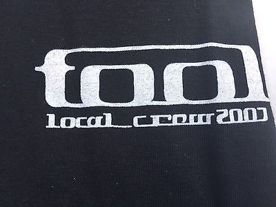 TOOL Local Crew T Shirt 2007 Tour Size XL black NEW local crew concert