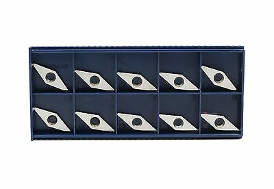 """Diamond shape Carbide Insert 10mm(.39"""")X28mm(1.10"""") for wood,pack of 10"""