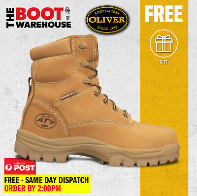 Oliver Work Boots, 45632, Fully Non-Metallic Toe Cap Safety PROSPECTING FRIENDLY