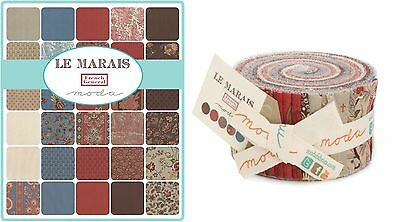 Quilting Fabric Jelly Roll - Moda - Le Marais