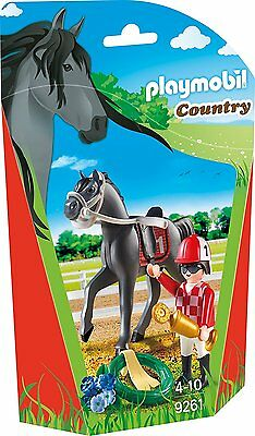 Playmobil - Country - 9261 - Jockey - NEU OVP