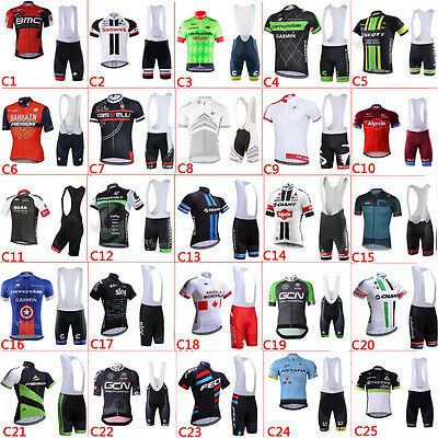 2017 new Bicycle clothing cycling jersey and bib shorts sets cycling bib shorts