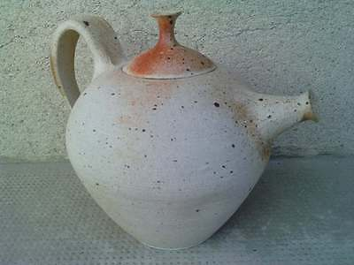 theiere grés cafetiere ( deblander ? BUTHOD-GARCON ?) ceramique tea pot pottery