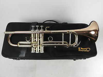 Vento Bb Student Trumpet, Gold Brass Bell and Leadpipe with Case [TR-0907193]