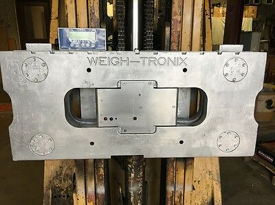 Avery Weigh Tronix  Forklift Scale, QTLTSC Carriage