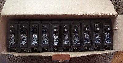 Cutler Hammer Single Pole Circuit Breakers (Lot Of 10) BR120  Eaton Corporation