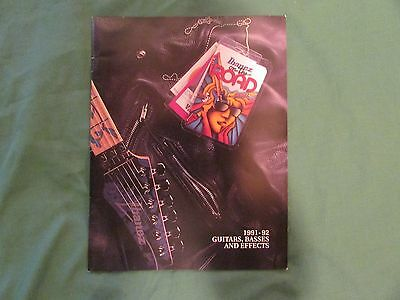 1991-92 Ibanez Guitars, Basses, and Effects Catalog
