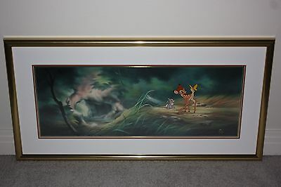 Disney Bambi and Thumper Limited Edition Animation Cel