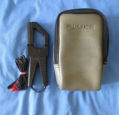 Fluke 80i-400 AC Current Probe with Carrying Case Excellent Used Condition