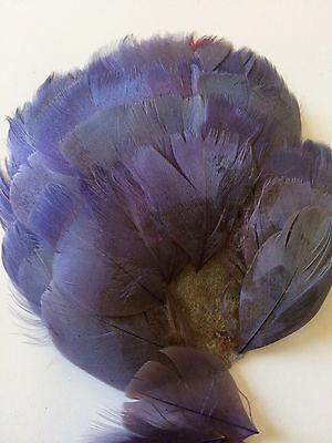 Antique Hats Plume Feather Dolls Hat Millinery Hat Costume Flapper 1910 Lavender