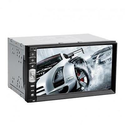 2 Din Car Stereo + MP5 Player - 180 Watt, Bluetooth, AM / FM Radio, AUX In, USB,