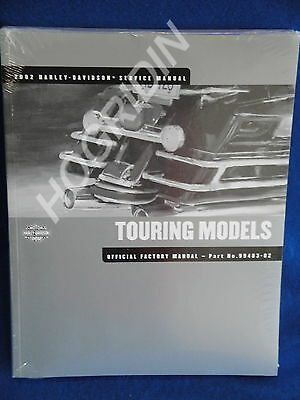 2002 Harley touring service manual road king street glide electra flht classic