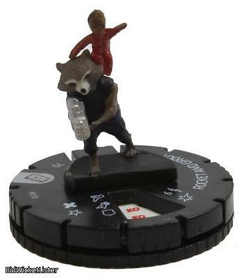 Rocket and Groot Heroclix 010 Guardians of the Galaxy Vol 2 Miniature CMG