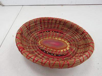 Hand crafted handmade small basket G931