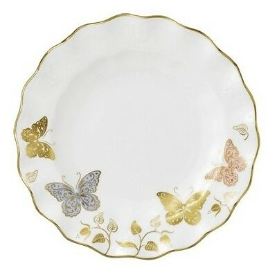 """New Royal Crown Derby 1st Quality Butterfly 8"""" Side Plate"""
