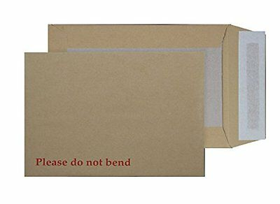 Purely Packaging B4 352 x 250 mm Board Back Pocket Peel and Seal Envelope - Mani