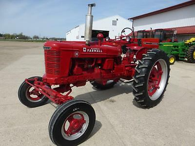 1943 Ih Farmall H Tractor For Sale Repainted New Tires Fenders