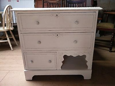 Antique French style chest of drawers. FREE local delivery.