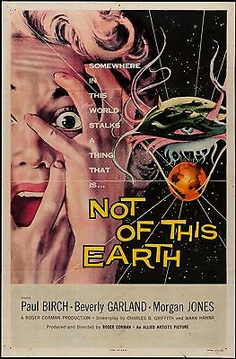 Not of This Earth One Sheet