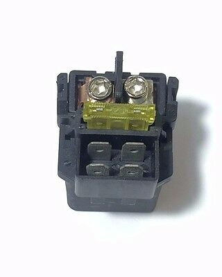 Starter Solenoid Relay Honda 35850-Mr5-007 35850-Mt4-000 With Fuse 30 Amp 4 Pin