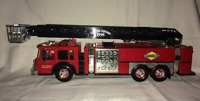 Sunoco Fire Truck Christmas In July 1998 Limited Edition Serial #000963