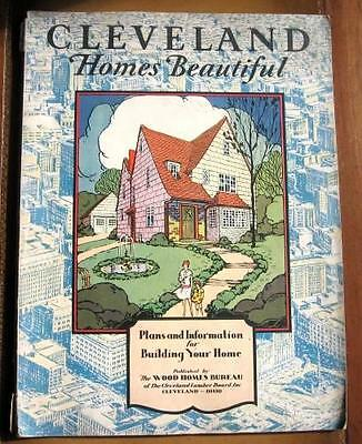 1928 - Cleveland -  Homes Beautiful - Large Catalog - 112 pages - Exceptional