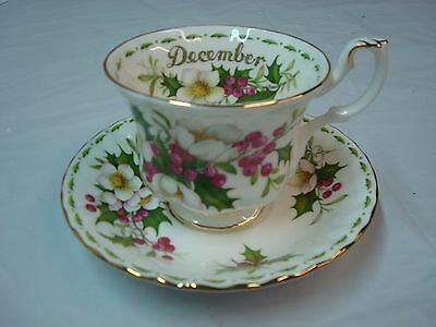 Vintage Beautiful Bone China Tea Cup and Saucer, Royal Albert