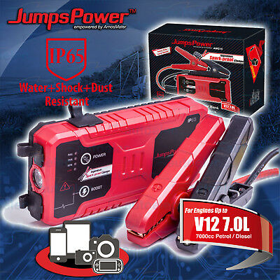 Jumpspower Smart Booster Jump Charger Engine Starts Up To 7 Litre Petrol Diesel