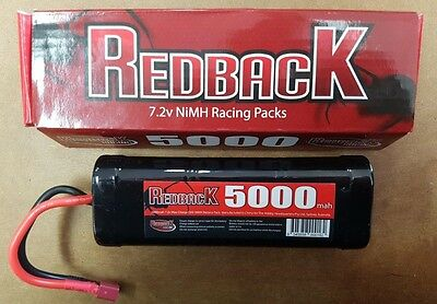 Redback 5000Mah 7.2V NiMh Battery Deans Connector  RCBAT6SC5000