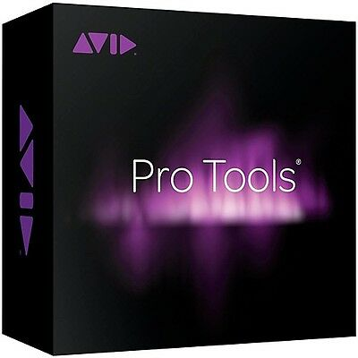 AVID Pro Tools DAW Software with 12mth Support and Upgrades