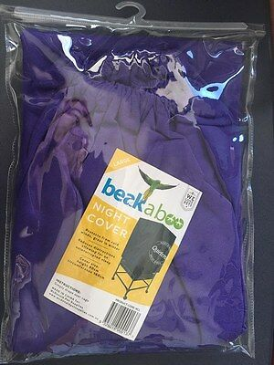 McDonald Beakaboo Night Cover for Birdcages - Large 80cm x 160cm BLACK only