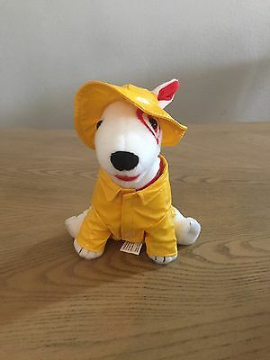 Target Dog Bullseye Dog Raincoat Hat Yellow Jacket