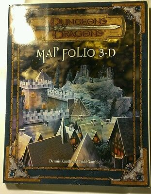 Dungeons & Dragons D&D Map Folio 3-D Scenery Set for RPG roleplay Miniatures D20
