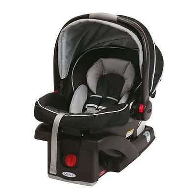 Graco SnugRide 35 Click Connect Baby Infant Car Seat - Gotham (Open Box)