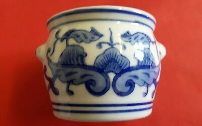 Chinese porcelain blue and white small bowl