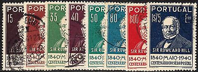 Portugal 1940 Rowland Hill Set FU