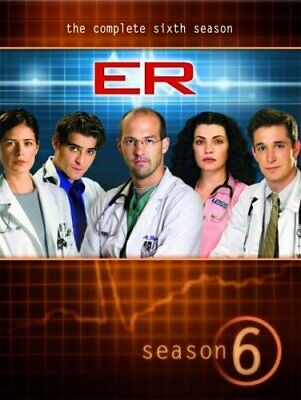 ER: The Complete Sixth Season [DVD] [2006] - DVD  XIVG The Cheap Fast Free Post