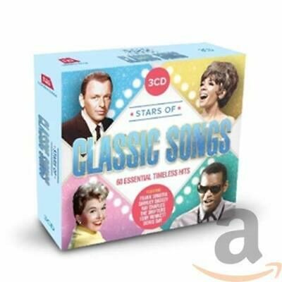 Various - Stars Of Classic Songs: 60 All-Time Classic Hits - Various CD YGVG The