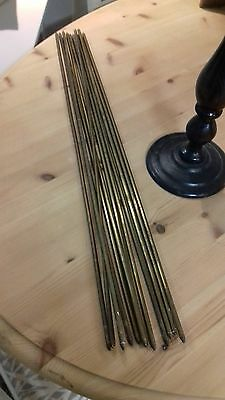 Vintage Brass Stair Rods