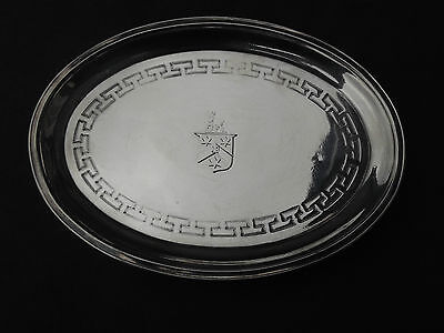 1805 George 111 teapot stand by J Emes nice crest