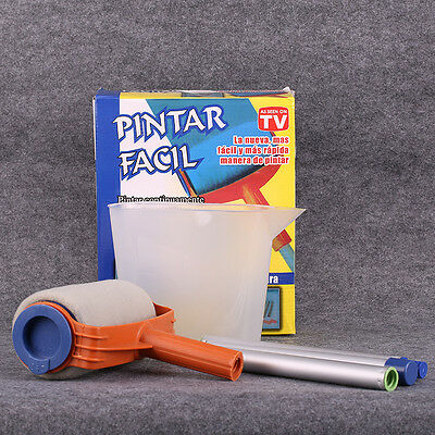 Paint Roller Kit Pintar Facil Professional Painting Runner Decor As Seen On TV
