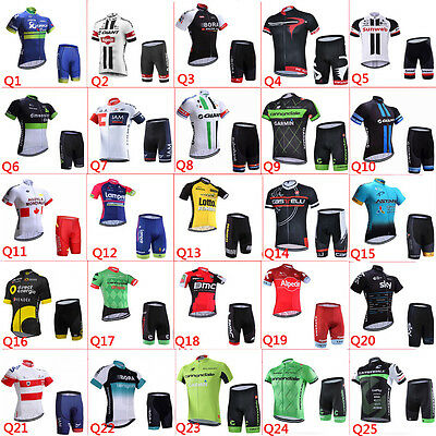 2017 new Maglia ciclismo Pantaloncini imposta New Hot cycling jersey,shorts set