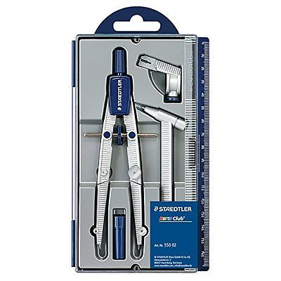 Staedtler Noris Club 550 02 School Compass with Centre Wheel Set with Extension