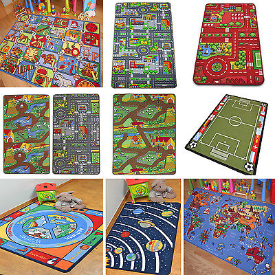 Children Play Mats Kids Road Farm Letters Carpet Educational Fun Cheap Floor Mat