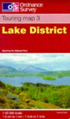 Lake District (Touring Maps & Guides) by Ordnance Survey Sheet map, folded Book