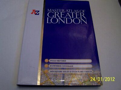 Master Atlas of Greater London (Street Maps... by Geographers' A-Z Map Paperback